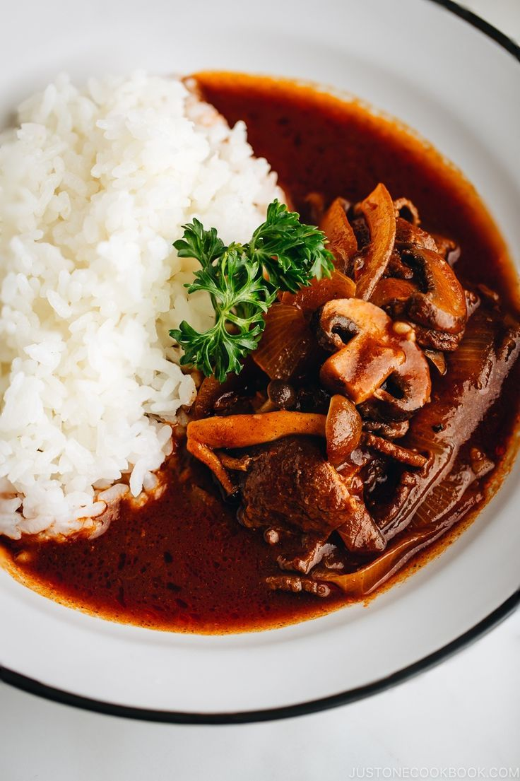 Hayashi Rice ハヤシライス Just One Cookbook Recipe Easy Japanese Recipes Beef Recipes Dinner Entrees