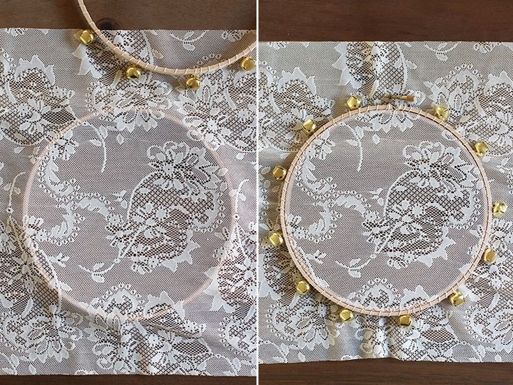 I wish I can say I thought of this idea. But really, it was this creative bride and her stunning wedding that inspired these handmade lace tambourines. The timing of the discoverycould not have been more ideal since my dear friends were getting married a few weeks later. I thought they would be