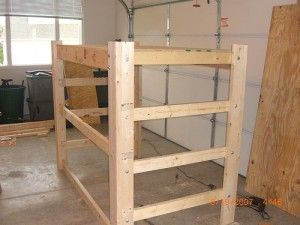 loft bed plans | How to Build a Loft Frame for Dorm Bed | Interior Decorating Tips