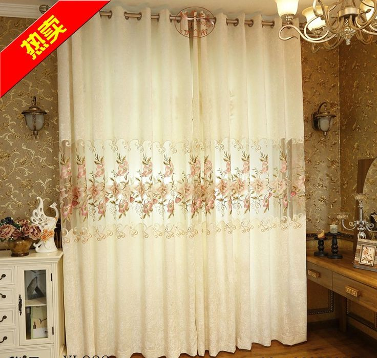 Cheap bedding, Buy Quality bedding sheet directly from China bedding sets curtains Suppliers:  welcome to my shop                             Modern Jacquard White Blackout Embroidered Voile Tul