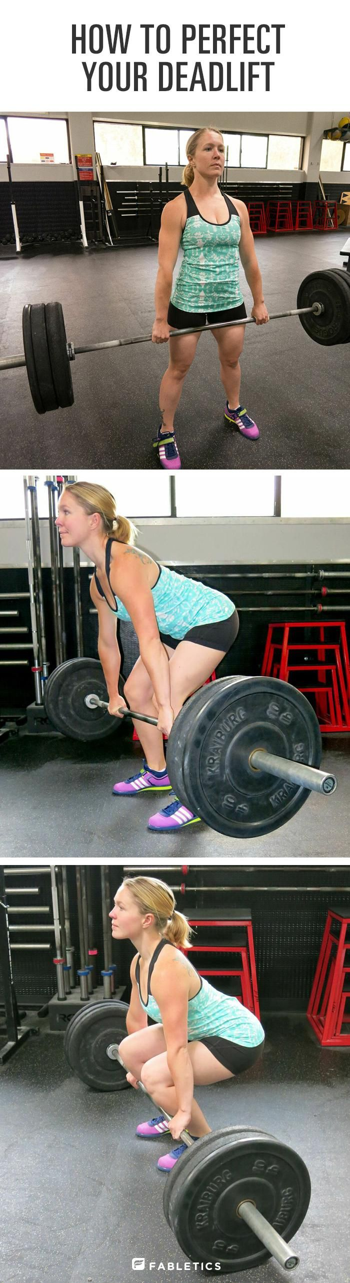 Deadlifting is an amazing all over body workout. Don't be intimidated, find the proper form here!