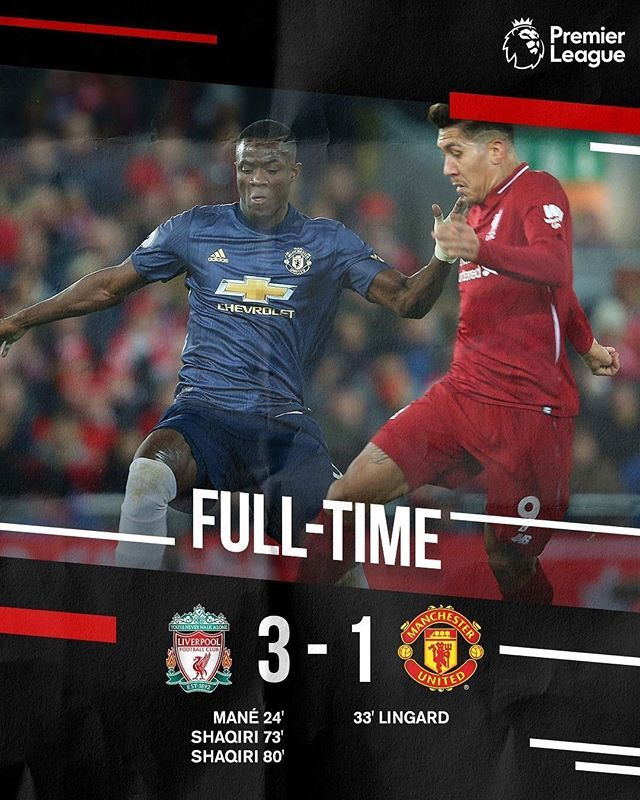 Full Time At Anfield How Would You Like Some Free Football Tips Or Horse Racing Tips Check U Free Football Liverpool Vs Manchester United Soccer Highlights