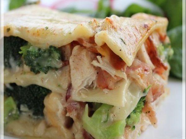 Recette Lasagne au poulet et bacon par Lexibule - Ptitchef