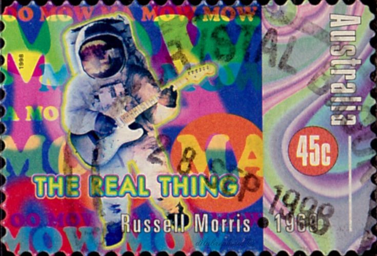 Australia The Real Thing By Russell Morris 1969 Rock And Roll In Australia Scott 1662f A543 Issued 1998 May 26 Postal Stamps Postage Stamps Stamp
