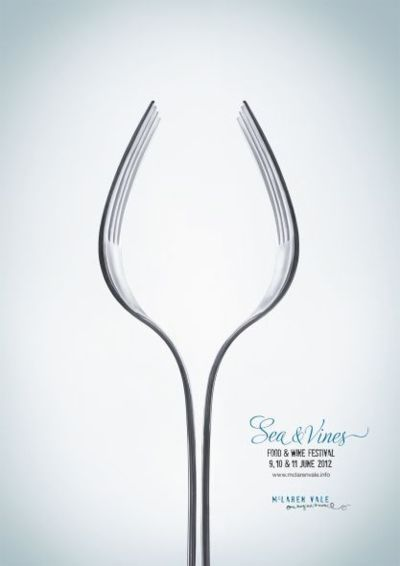Food and Wine Festival Advertising Agency: Showpony Advertising, AustraliaCreative Director: Parris MesidisArt Director: Jonathan PaganoCopywriter: Parris MesidisPhotographer: Liam WestPublished: April 2012