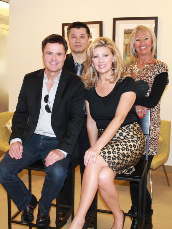 Donny And Debbie Osmond At The Donny Osmond Home Launch Party