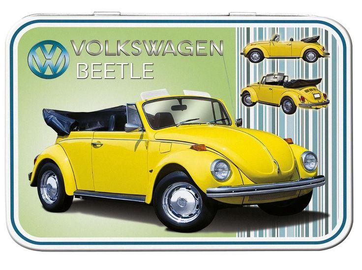 VW Beetle Cabriolet Keepsake Tin