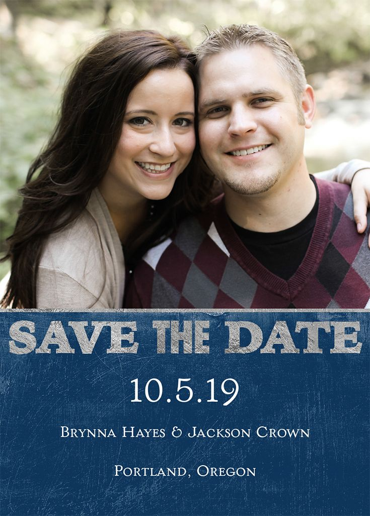 Save The Date Magnet.