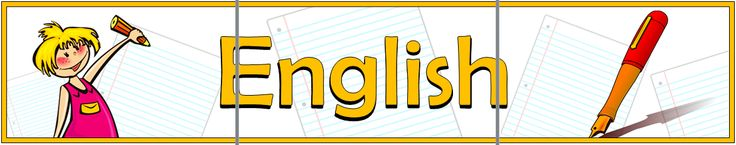 "A 3-page printable English title display banner with simple yet effective illustrations that symbolizes ""English"". Will look excellent as the heading for your English display board. Visit our TpT store for more information and for other classroom display resources by clicking on the provided links."