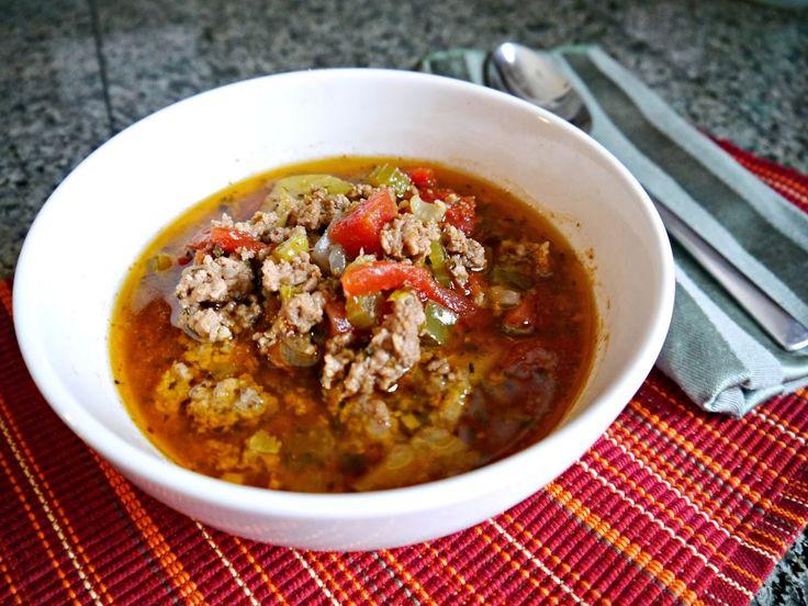 Grandma's Paleo Spaghetti Soup #ConsciousEatery