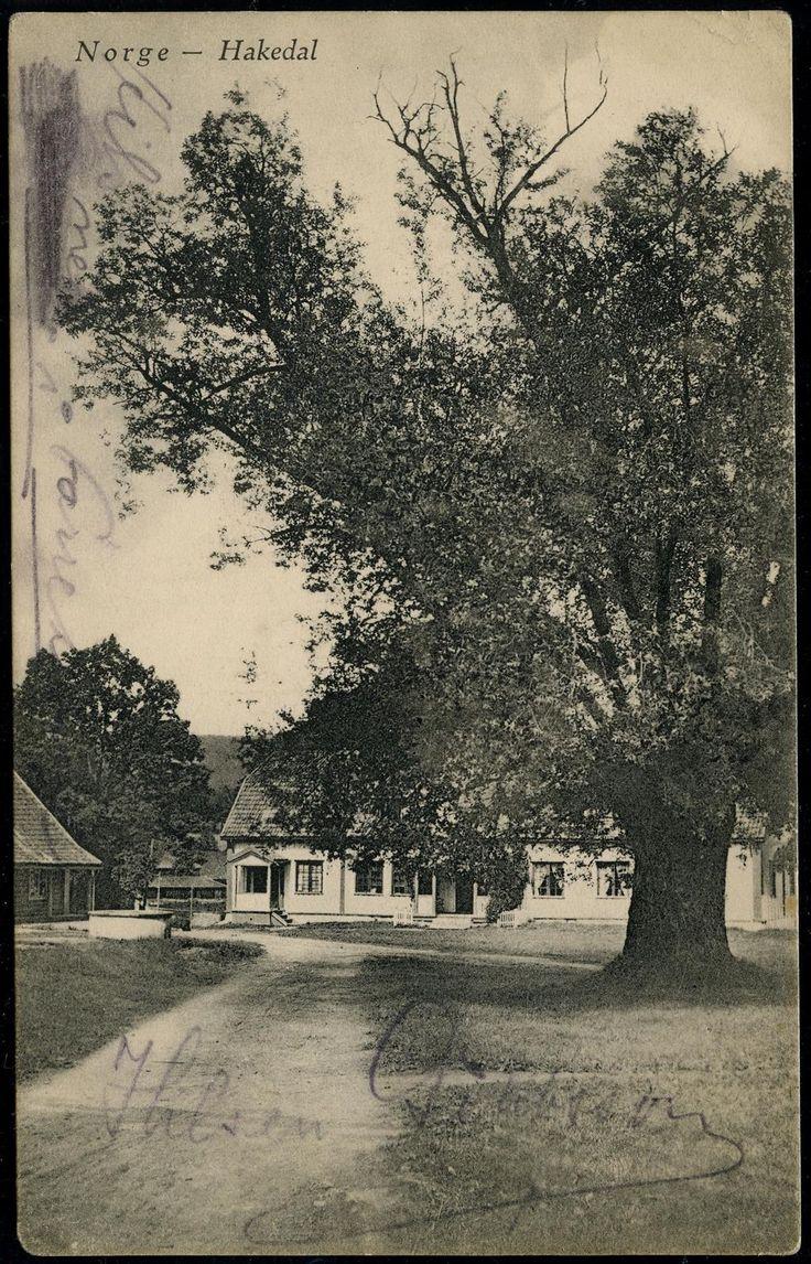 Akershus fylke Nittedal kommune HAKEDAL. Hakadal Verk J.H.Küenholdt Brukt 1913