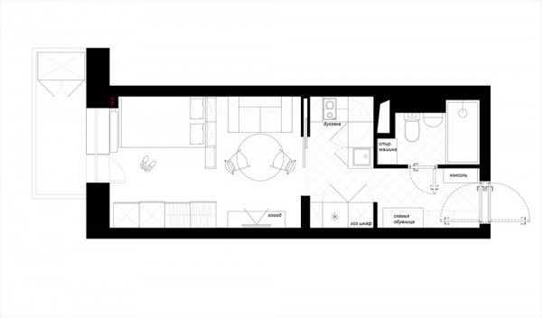 Designing for super small spaces 5 micro apartments for Small studio plans