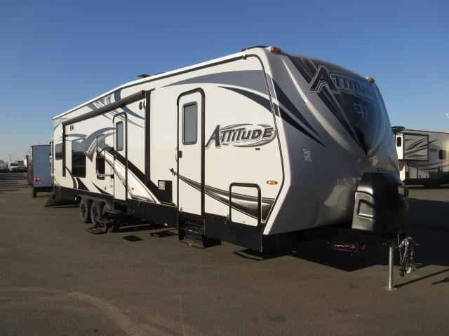2017 New Eclipse ATTITUDE 32GSG GRAY/Two AC's / 5.5 Onan Toy Hauler in California CA.Recreational Vehicle, rv, 2017 Eclipse ATTITUDE 32GSG GRAY/Two AC's / 5.5 Onan Generator, Exterior Color: GRAY EXTERIOR, Water Capacity: 100, Number of AC Units: 2, Leveling Jack: STABILIZER JACKS (4), Self-Contained: Yes, Number of Slideouts: 1, Cabinetry: Walnut, The following is a list of Additional Options besides the Standard Features come with the unit are:- 2017 ATTITUDE 32GSG MAP PRICING ($ ) REAR…