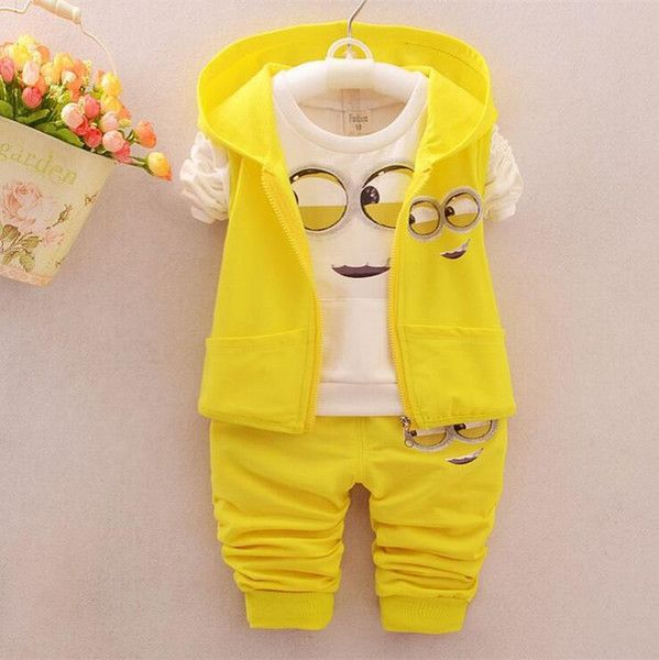 I found some amazing stuff, open it to learn more! Don't wait:https://m.dhgate.com/product/2017-spring-baby-girls-boys-minion-suits/395982666.html