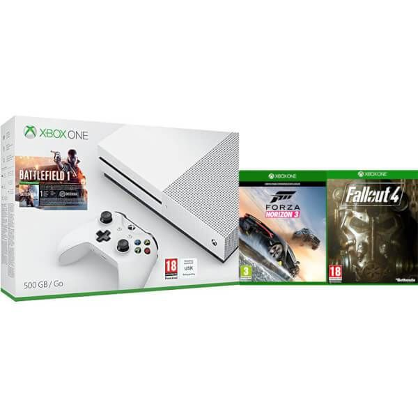 UK Deals: Xbox One S With Battlefield 1 Forza 3 and Fallout 4 for Under 250