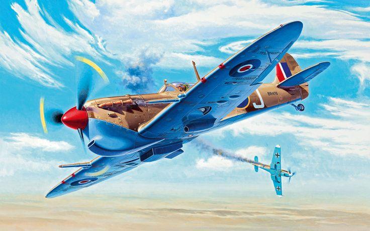 Spitfire Mk Vc Trop by Andrzej Deredos