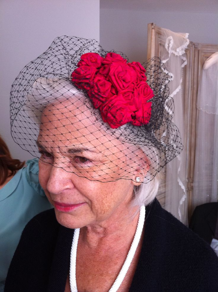 For the Mother of Bride Dress with Elegant Hat