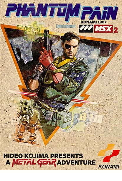 Metal Gear Solid: The Phantom Pain coming sometime this year, supposedly. Original Metal Gear released on July 7, 1987, for the MSX2 computer.