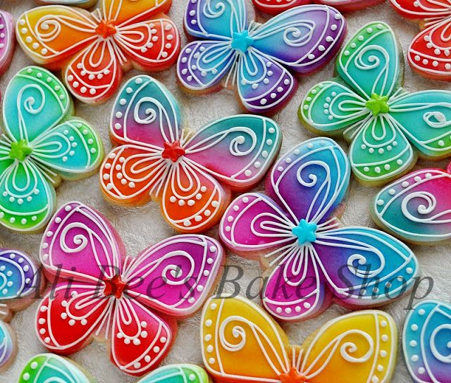 Ali Bee's Bake Shop: From the vault: Colorful Butterflies: