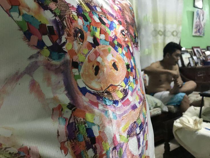 Oink oink! #traceykellet #art