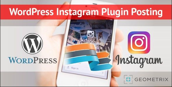 WordPress Instagram Plugin Posting