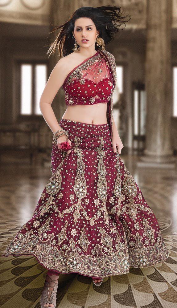 Dulhan Indian Bridal Wedding Lehenga Choli Buy Online