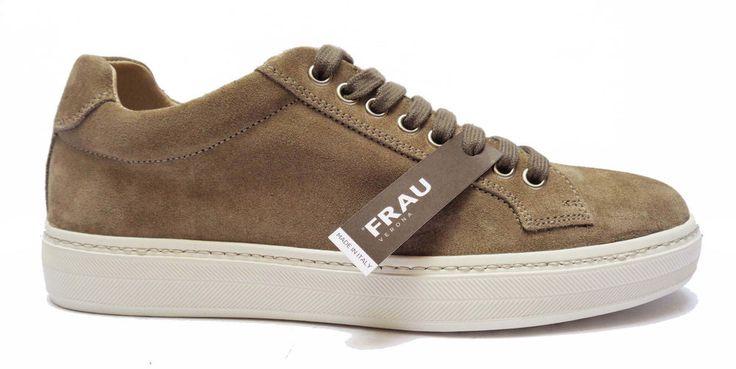 Scarpe uomo FRAU 28C9 scarpe casual da uomo in camoscio col. Sughero   eBay