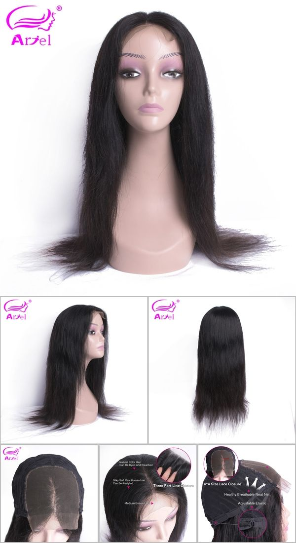 Lace Wigs Human Hair Lace Wigs Beaudiva Women Black Color Malaysia 4*4 Lace Front Human Hair Wigs Hair Straight Wig With Baby Hair Natural Hairline