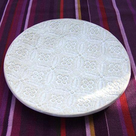 Ceramiczny talerzyk - Owalna