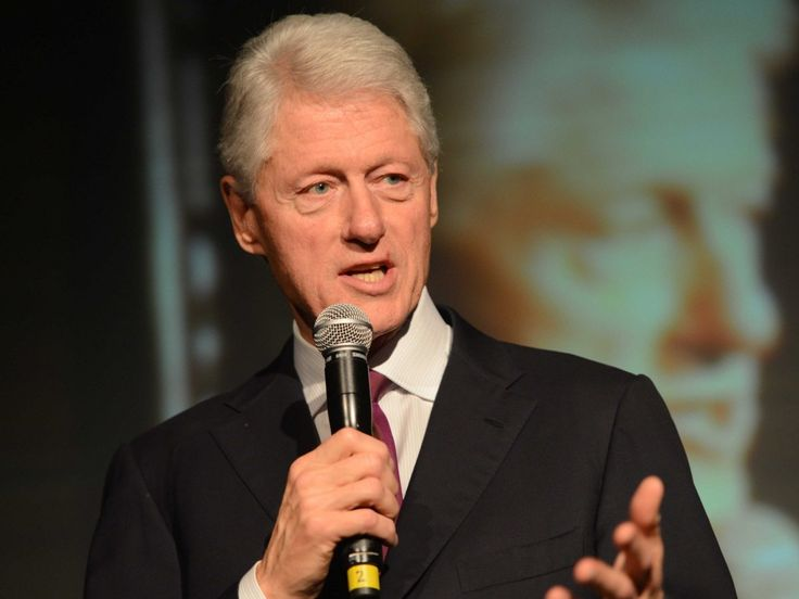 Former President Bill Clinton graduated from Yale Law in 1973 with his then-girlfriend Hillary Rodham Clinton. He's returned to his alma mater many times to address current students.