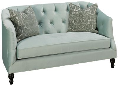 Marvelous Southern Furniture Harlow Southern Furniture Harlow Accent Settee    Jordanu0027s Furniture