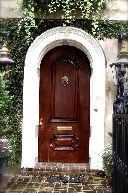 15 best images about fiber classic mahogany collection on for Large wooden front doors