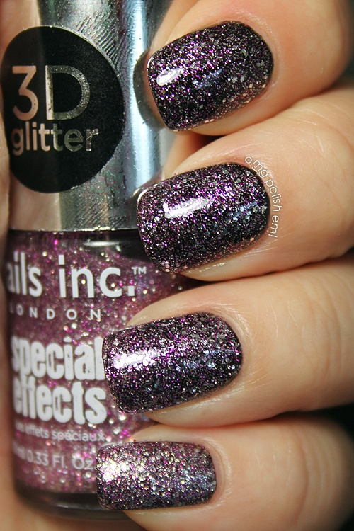 OMG! Polish 'em!: Nails Inc. 3D Glitters