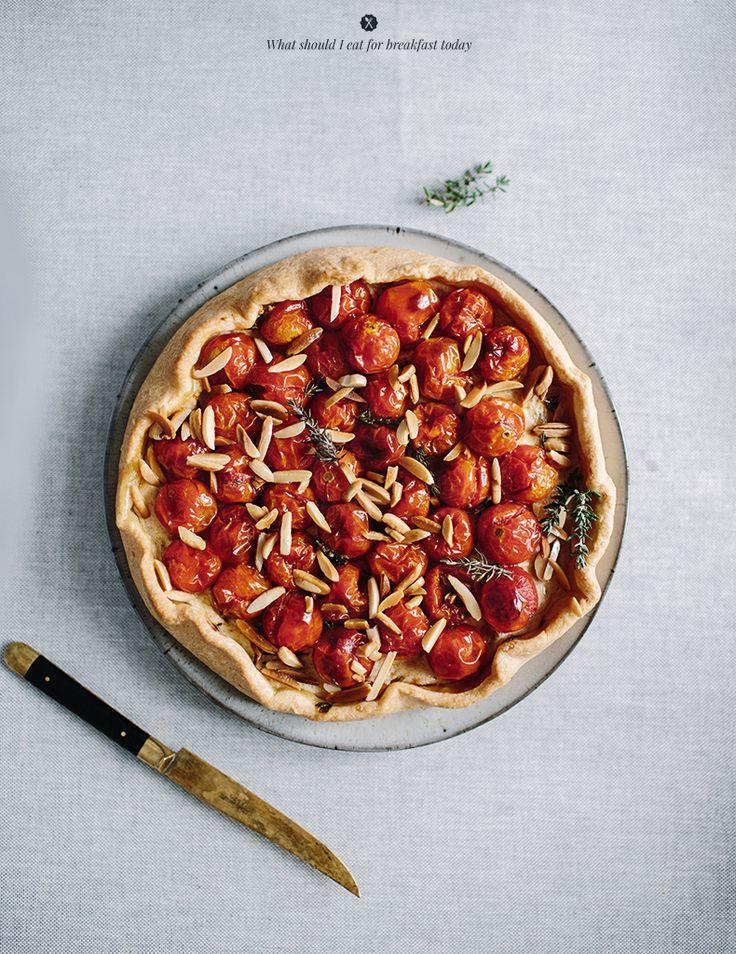 Tomato galette  / Marta Greber