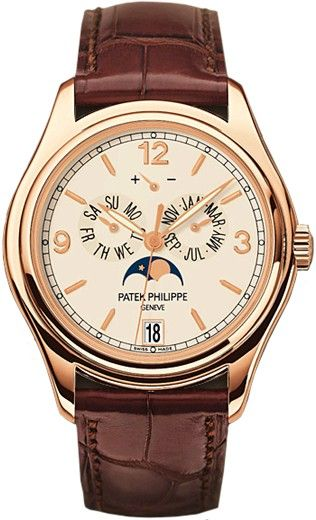 Replica Patek Philippe Complications Annual Calendar Rose Gold 5146R-001