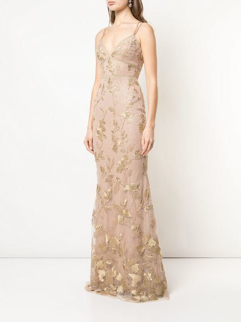 f20bbe81 Marchesa Notte long floral dress $995 - Buy Online - Mobile Friendly, Fast  Delivery, Price