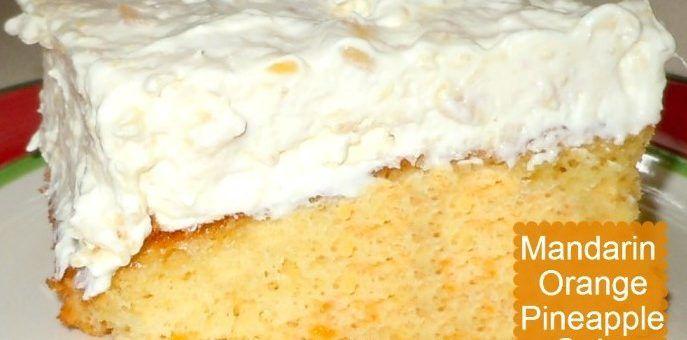 Weight Watchers Mandarin Orange Cake Recipe