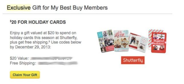 *HOT* FREE $20 to Spend at Shutterfly + FREE Shipping Code (Best Buy Rewards Members) - Raining Hot Coupons
