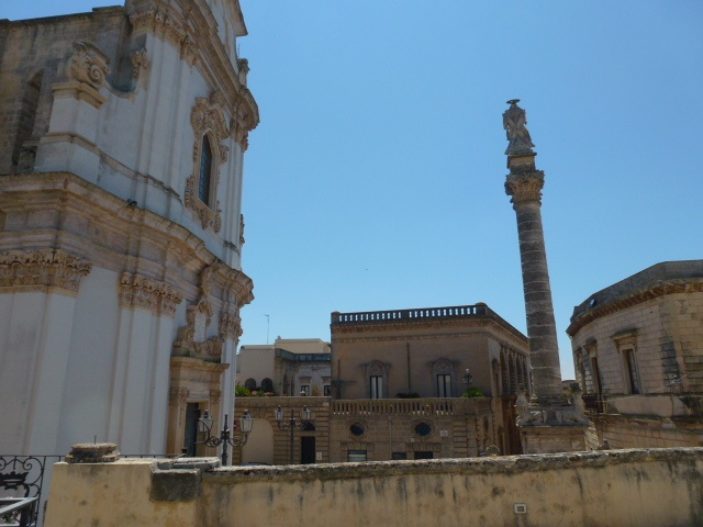 Historic town of Presicce, Lecce