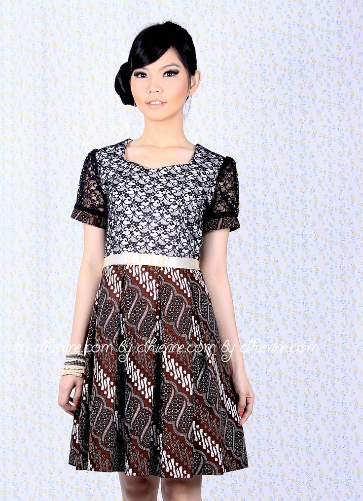 Batik Dress | Lace Dress | Dress Kebaya | Mallika Dress | DhieVine | Redefine You
