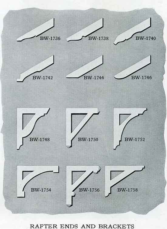 Rafter Ends And Brackets Are Applicable Only To Certain Types Of Architecture The Variety Of