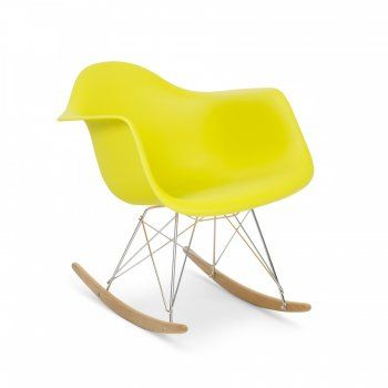 ROCK YOUR SOUL Eames Olive RAR Rocker Chair