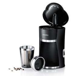 Kaffemaschine für einen Becher Kaffee