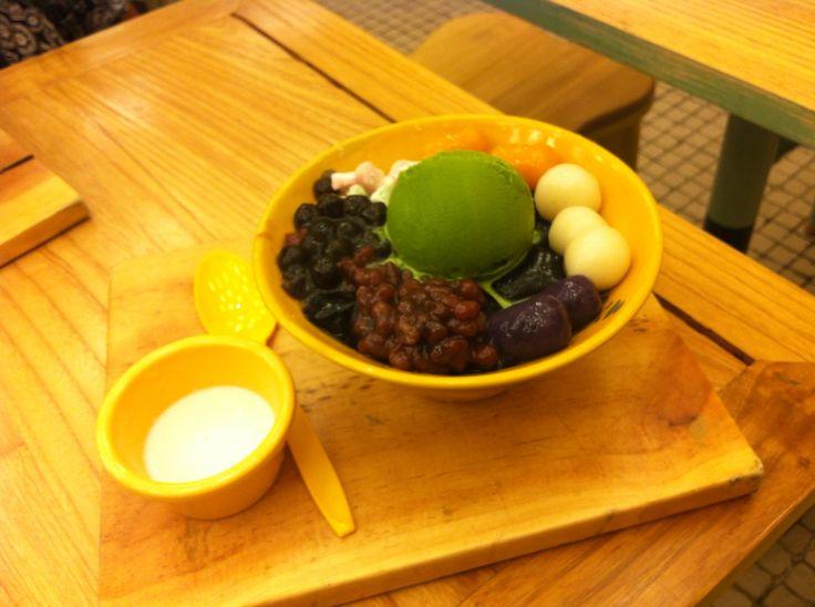 Matcha Grass Jelly