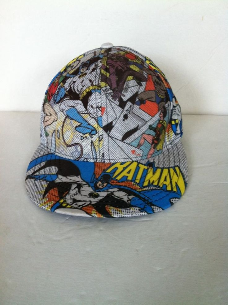 Batman Baseball cap Size 10 The Dark Knight DC Comics Robin The Joker Comic Book #DCComics #BaseballCap