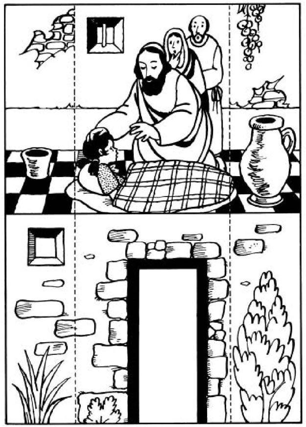 28 best images about bible jesus raises dead on pinterest raising sunday school and raising. Black Bedroom Furniture Sets. Home Design Ideas