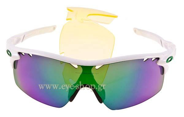 Γυαλιά Ηλίου  Oakley Radarlock XL 9170 01 Polished White Jade Iridium Τιμή: 222,00 €