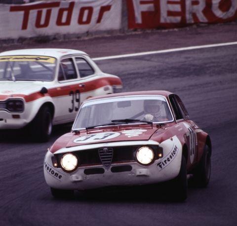 Toine Hezemans - Alfa Romeo GTA1300 - 1972 - Madrid Jamara