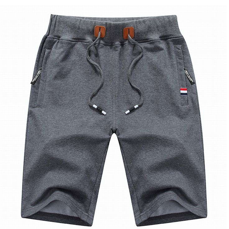 Men's breathable elastic waist shorts
