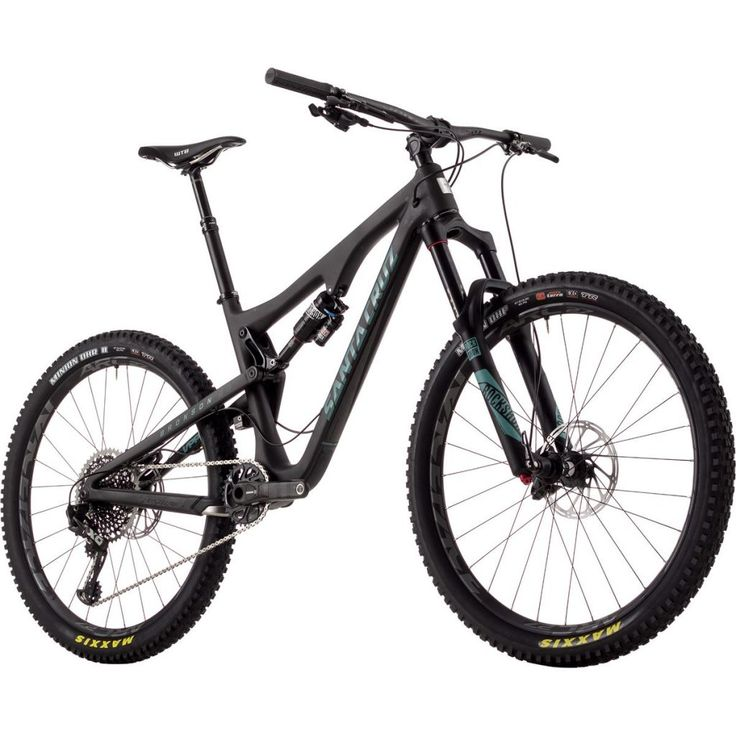 Santa Cruz Bicycles Bronson 2.0 Carbon CC X01 Eagle Complete Mountain Bike - 2017 Matte Black/Blue, L :https://athletic.city/bike/gear/santa-cruz-bicycles-bronson-2-0-carbon-cc-x01-eagle-complete-mountain-bike-2017-matte-blackblue-l/